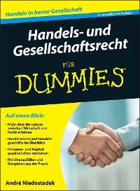 Cover Handels- und Gesellschaftsrecht für Dummies