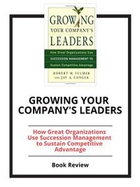 Cover Growing Your Company's Leaders