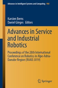 Cover Advances in Service and Industrial Robotics