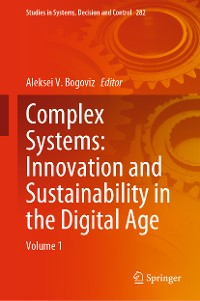 Cover Complex Systems: Innovation and Sustainability in the Digital Age