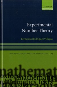 Cover Experimental Number Theory