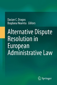Cover Alternative Dispute Resolution in European Administrative Law