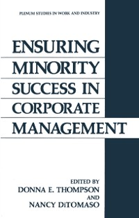 Cover Ensuring Minority Success in Corporate Management