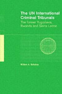 Cover UN International Criminal Tribunals