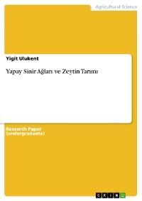 Cover Yapay Sinir Ağları ve Zeytin Tarımı