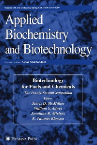 Cover Twenty-Seventh Symposium on Biotechnology for Fuels and Chemicals