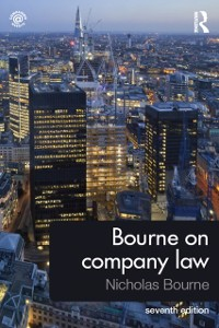 Cover Bourne on Company Law