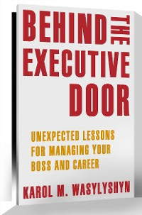Cover Behind the Executive Door