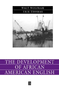 Cover The Development of African American English