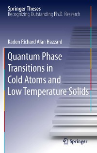Cover Quantum Phase Transitions in Cold Atoms and Low Temperature Solids