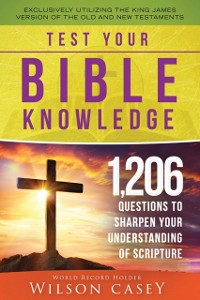 Cover Test Your Bible Knowledge