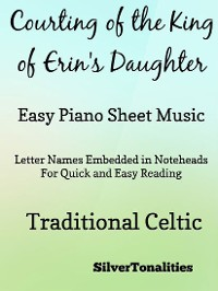 Cover Courting of the King of Erin's Daughter Easy Piano Sheet Music