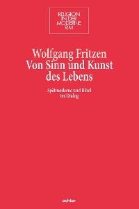 Cover Von Sinn und Kunst des Lebens