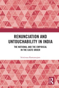 Cover Renunciation and Untouchability in India