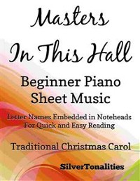 Cover Masters in this Hall Beginner Piano Sheet Music
