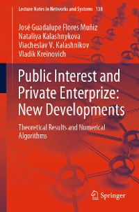 Cover Public Interest and Private Enterprize: New Developments
