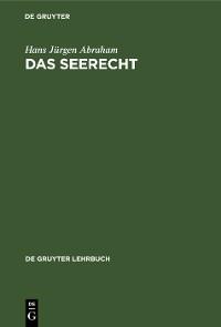 Cover Das Seerecht