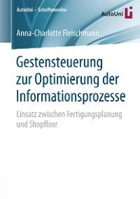 Cover Gestensteuerung zur Optimierung der Informationsprozesse