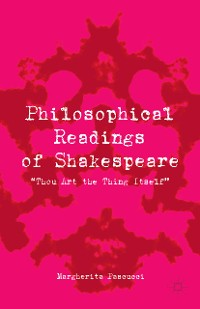 Cover Philosophical Readings of Shakespeare