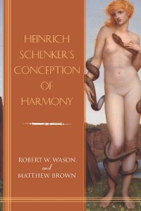 Cover Heinrich Schenker's Conception of Harmony