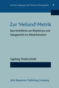 Cover Zur 'Heliand' metrik