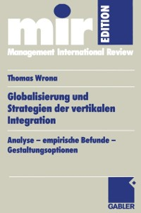 Cover Globalisierung und Strategien der vertikalen Integration