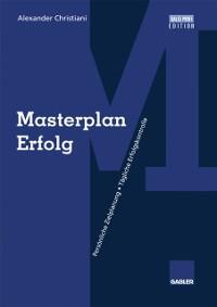 Cover Masterplan Erfolg