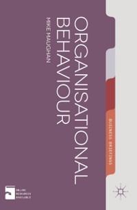 Cover Organizational Behaviour