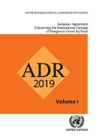 Cover European Agreement Concerning the International Carriage of Dangerous Goods by Road (ADR)