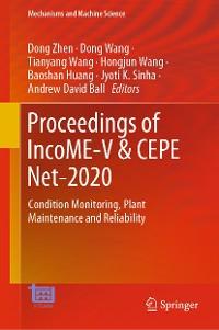 Cover Proceedings of IncoME-V & CEPE Net-2020