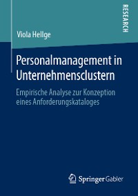 Cover Personalmanagement in Unternehmensclustern