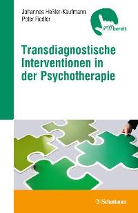 Cover Transdiagnostische Interventionen in der Psychotherapie