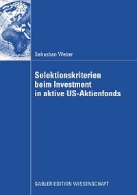 Cover Selektionskriterien beim Investment in aktive US-Aktienfonds