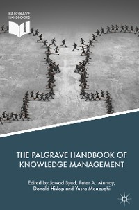 Cover The Palgrave Handbook of Knowledge Management