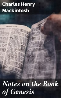 Cover Notes on the Book of Genesis