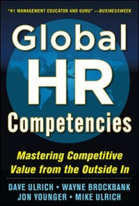 Cover Global HR Competencies: Mastering Competitive Value from the Outside-In