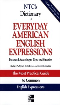 Cover NTC's Dictionary of Everyday American English Expressions