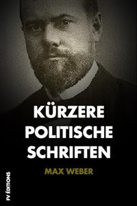 Cover Kürzere Politische Schriften