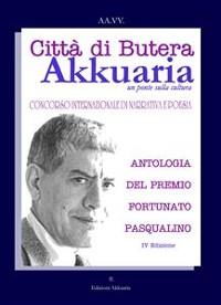 Cover Antologia del Premio Letterario Fortunato Pasqualino
