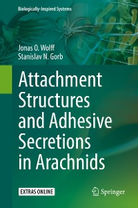Cover Attachment Structures and Adhesive Secretions in Arachnids