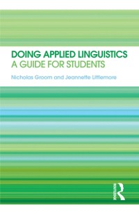 Cover Doing Applied Linguistics
