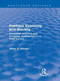 Cover Pukhtun Economy and Society (Routledge Revivals)