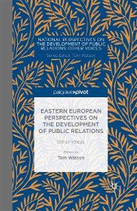 Cover Eastern European Perspectives on the Development of Public Relations