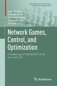 Cover Network Games, Control, and Optimization