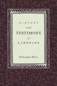 Cover History and the Testimony of Language