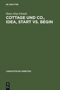 Cover Cottage und Co., idea, start vs. begin