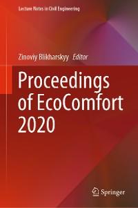 Cover Proceedings of EcoComfort 2020