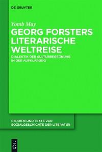 Cover Georg Forsters literarische Weltreise