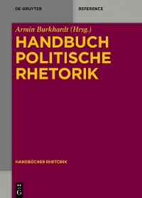 Cover Handbuch Politische Rhetorik