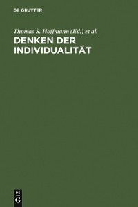 Cover Denken der Individualität